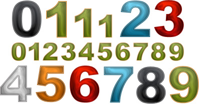 Internet Marketing Web Graphics Pack - Numbers Samples