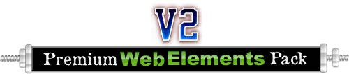 Website Graphics - Premium Web Elements Pack 2