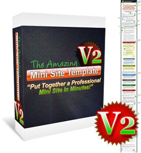 Amazing Mini Site Template