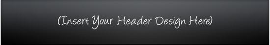 Amazing Mini Site Template - Header Graphic Sample