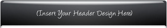 Amazing Mini Site Template - Graphic Header Sample