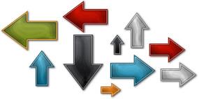 Internet Marketing Web Graphics Pack - Arrows Samples