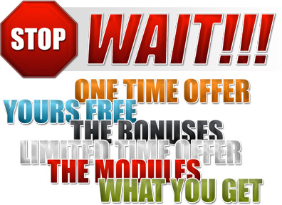 Internet Marketing Web Graphics Pack - Attention Headlines Samples