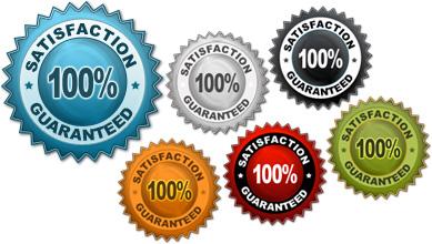 Internet Marketing Web Graphics Pack - Guarantee Signs Samples