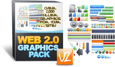 Web 2.0 Graphics Pack