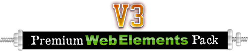 Website Graphics - Premium Web Elements Pack 3